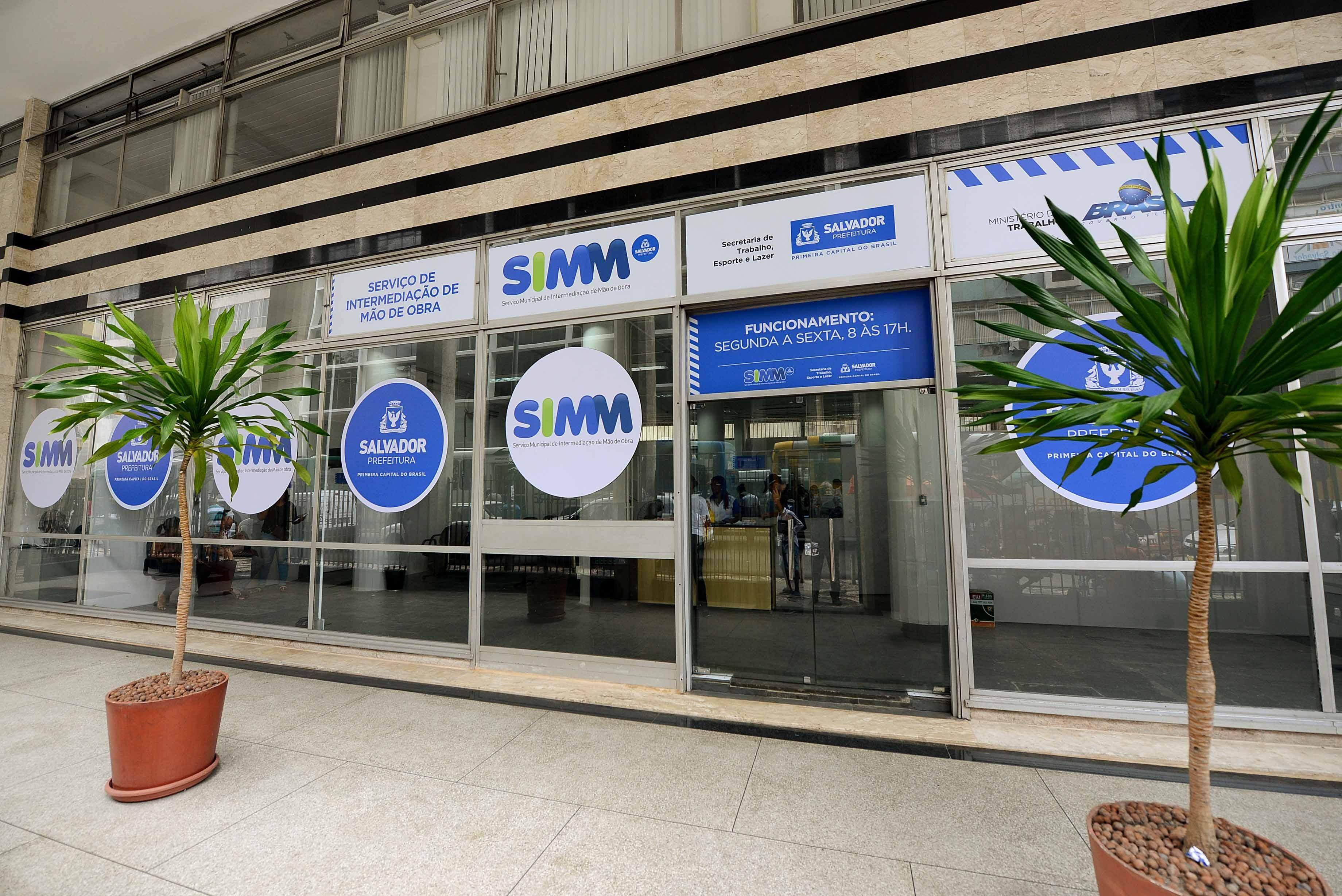 Simm oferece 32 vagas de emprego para sexta-feira através de agendamento eletrônico; confira