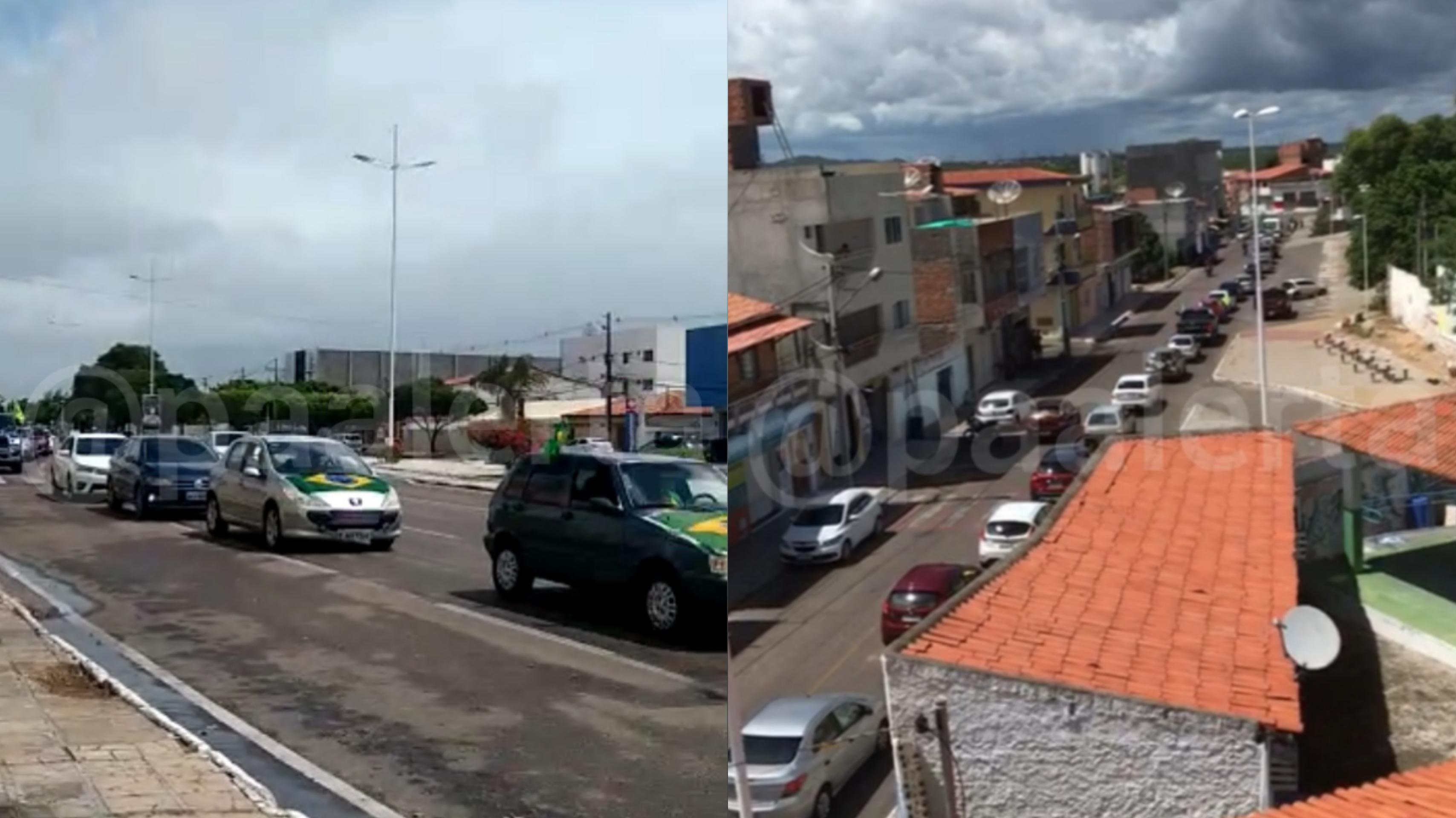 Apoiadores de Bolsonaro promovem manifestações em Paulo Afonso e em diversos Estados